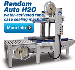 Auto H2O Water-Activated Tape Case Sealing Machine