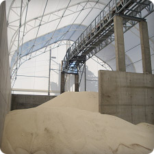 Structure Fabric for Municipal Salt Storage