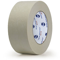 Natural, .47 x 36 yd IPG Premium Grade Double Coated Flatback Tape 72-Pack