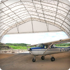 Structure Fabric Airplane Hangar