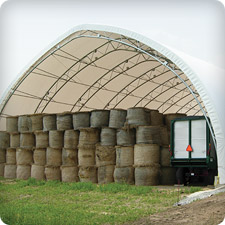 Structure Fabric Farm - Hay Bales