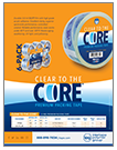 CLEAR TO THE CORE PREMIUM PACKING TAPE