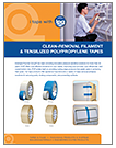 CLEAN REMOVAL FILAMENT AND TENSILIZED TAPES