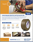 525 PAPER PRESSURE-SENSITIVE CARTON SEALING TAPE