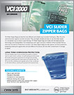 VCI SLIDER ZIPPER BAGS