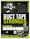 IRON GRIP DUCT TAPE - INDUSTRIAL