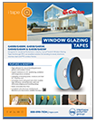 CACTUS BRAND WINDOW GLAZING TAPE