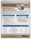 BETTER PACK® 333 PLUS WAT DISPENSER